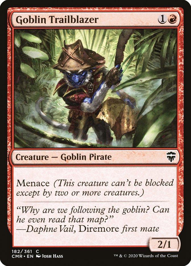 Carta /Goblin Trailblazer de Magic the Gathering