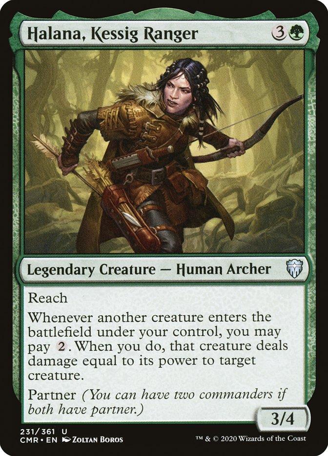 Carta /Halana, Kessig Ranger de Magic the Gathering