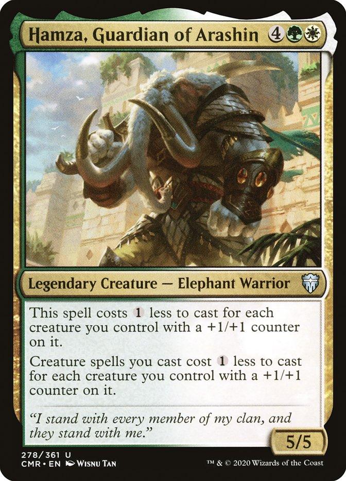 Carta /Hamza, Guardian of Arashin de Magic the Gathering