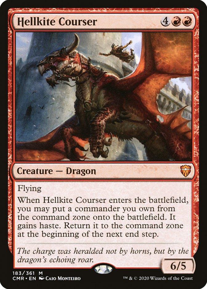 Carta /Hellkite Courser de Magic the Gathering