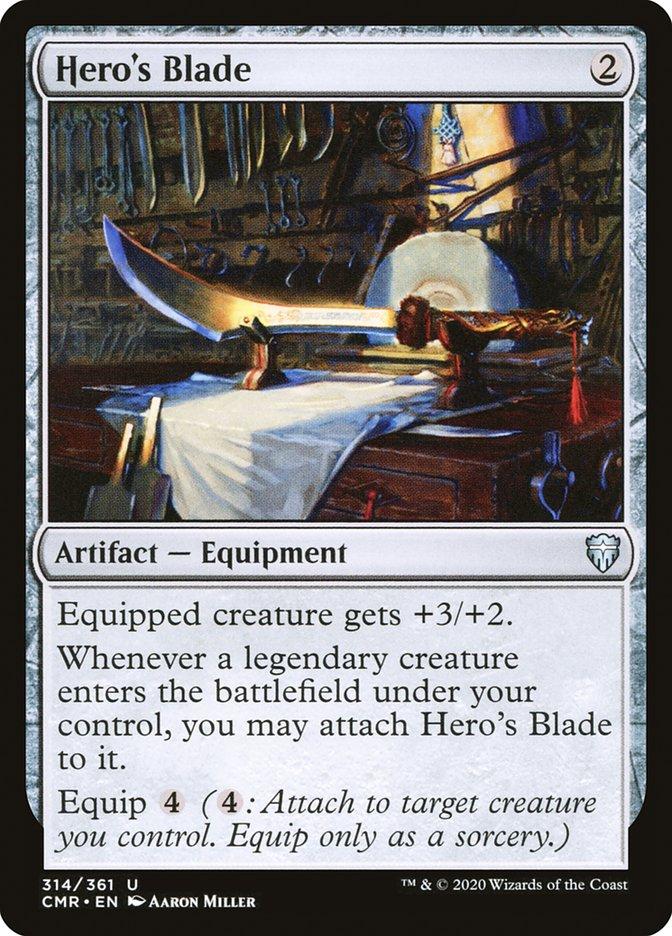 Carta /Hero's Blade de Magic the Gathering