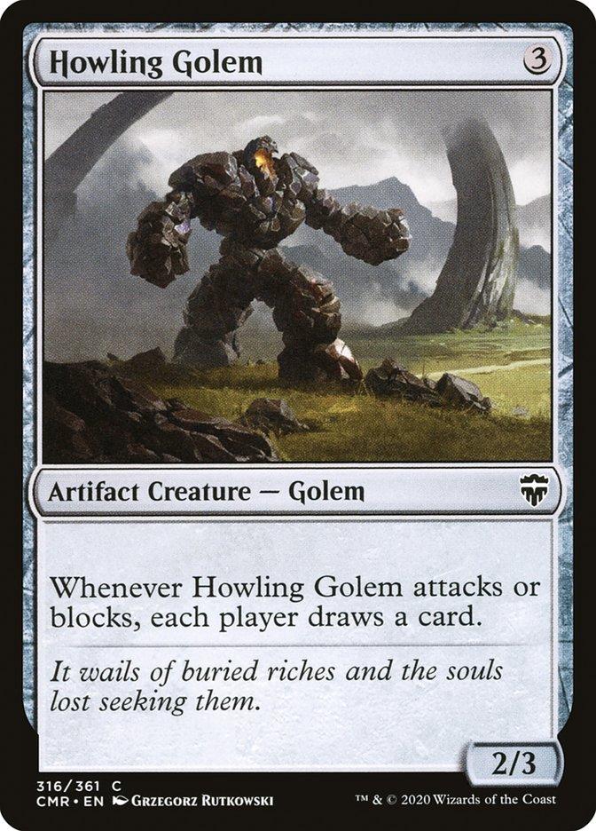 Carta /Howling Golem de Magic the Gathering