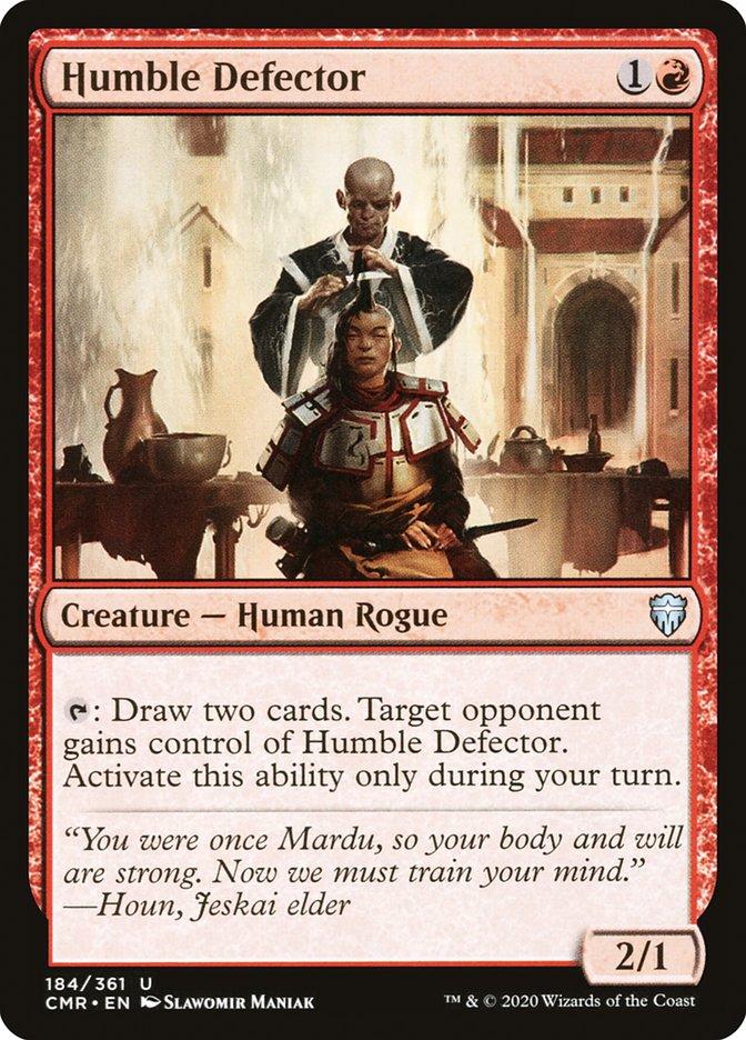 Carta /Humble Defector de Magic the Gathering