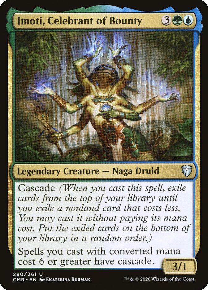 Carta /Imoti, Celebrant of Bounty de Magic the Gathering
