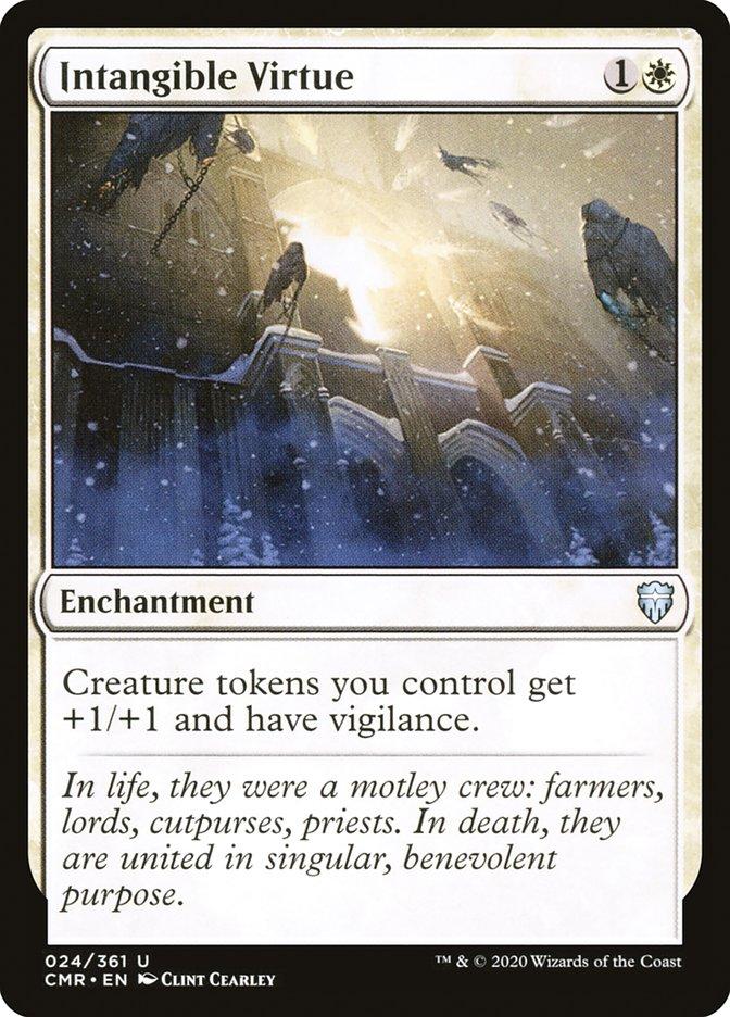 Carta /Intangible Virtue de Magic the Gathering