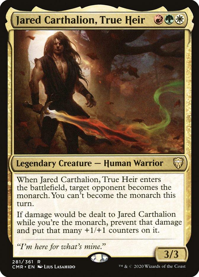 Carta /Jared Carthalion, True Heir de Magic the Gathering