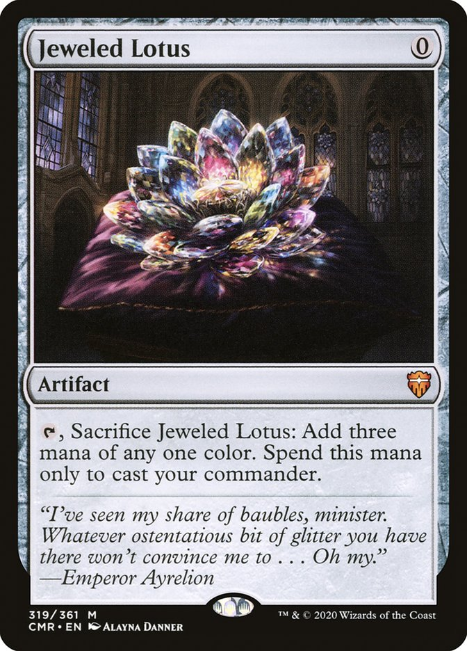 Carta /Jeweled Lotus de Magic the Gathering