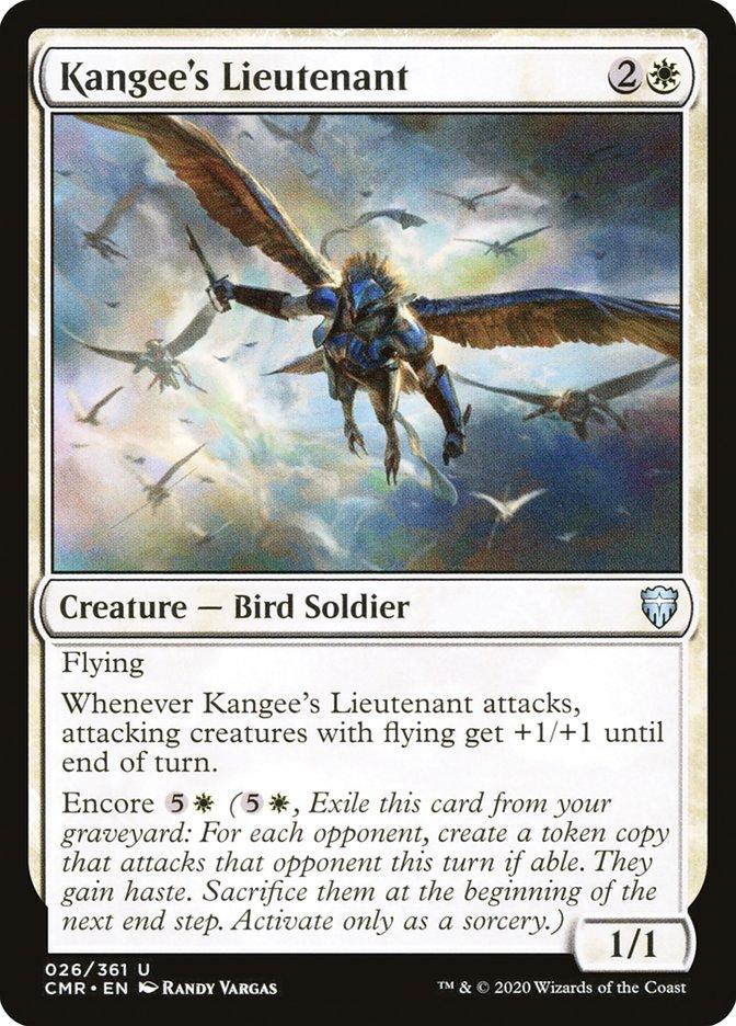 Carta /Kangee's Lieutenant de Magic the Gathering