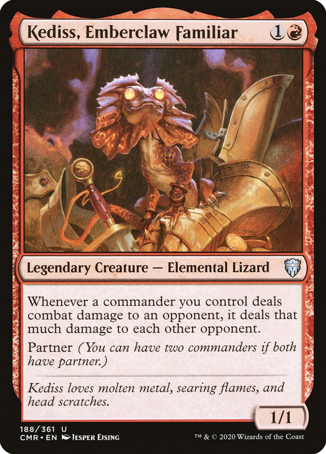 Carta /Kediss, Emberclaw Familiar de Magic the Gathering