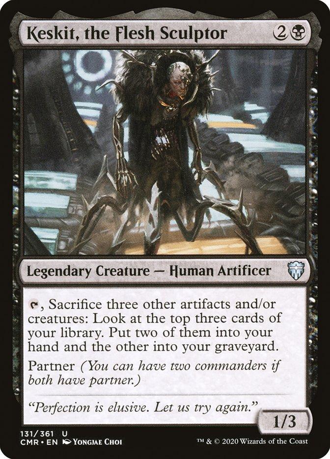 Carta /Keskit, the Flesh Sculptor de Magic the Gathering