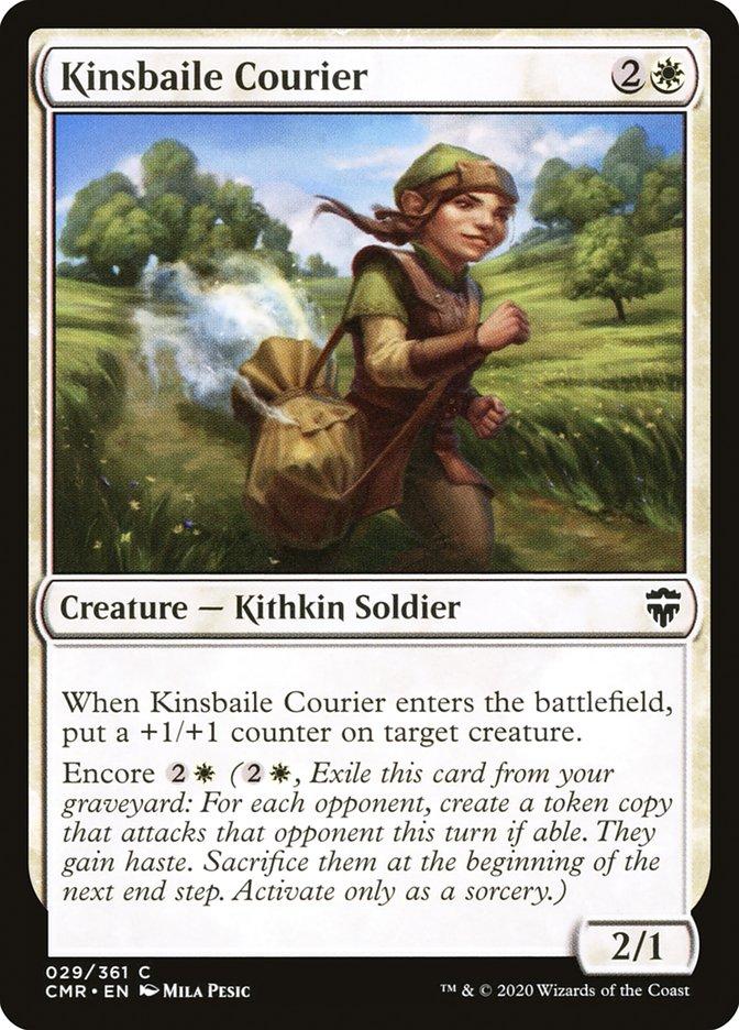 Carta /Kinsbaile Courier de Magic the Gathering