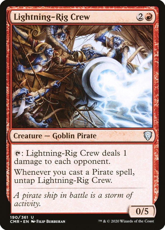 Carta /Lightning-Rig Crew de Magic the Gathering