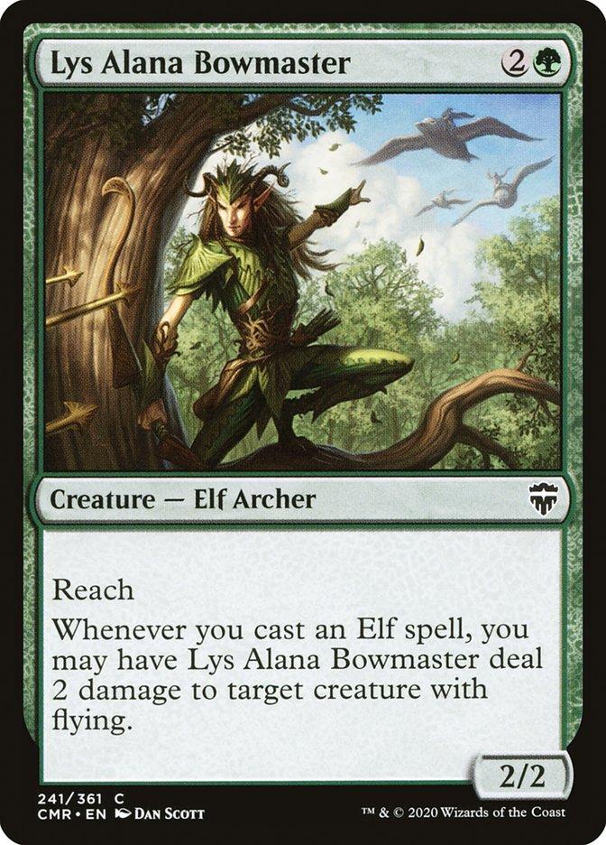 Carta /Lys Alana Bowmaster de Magic the Gathering
