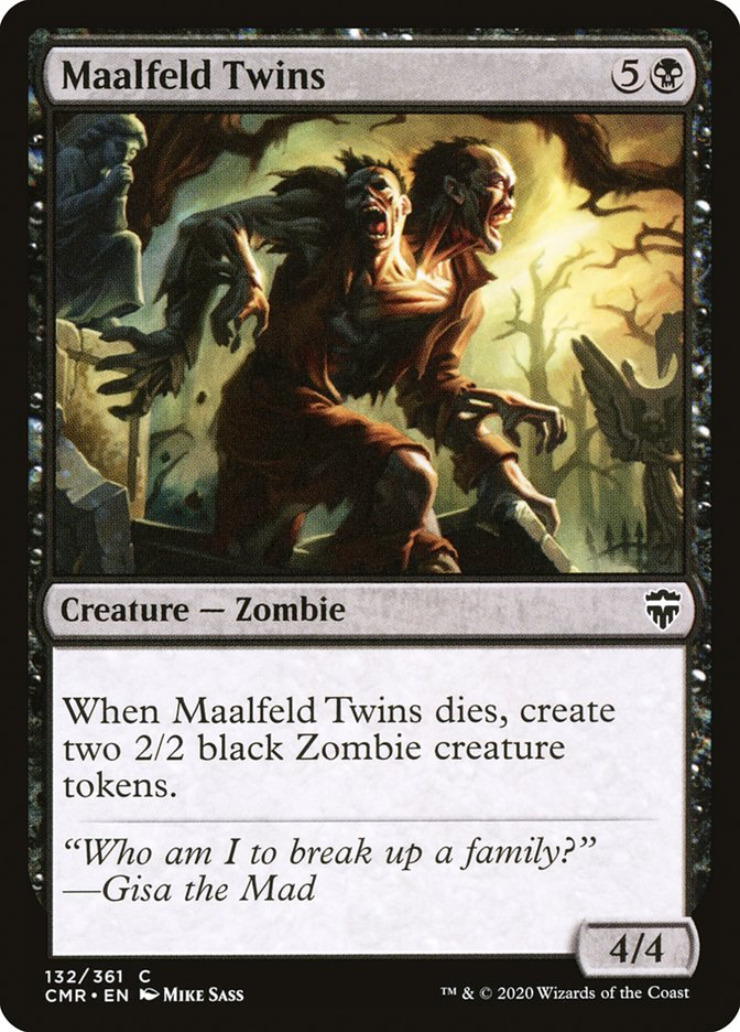 Carta /Maalfeld Twins de Magic the Gathering