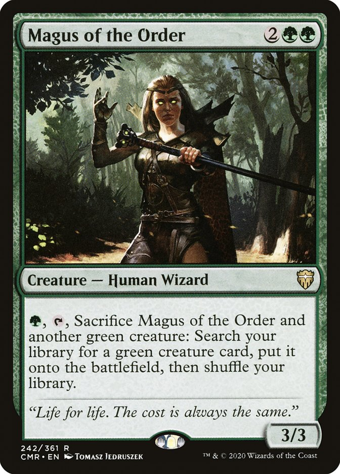 Carta /Magus of the Order de Magic the Gathering