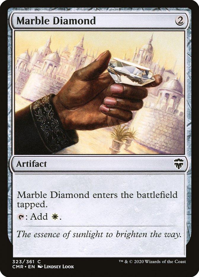Carta /Marble Diamond de Magic the Gathering