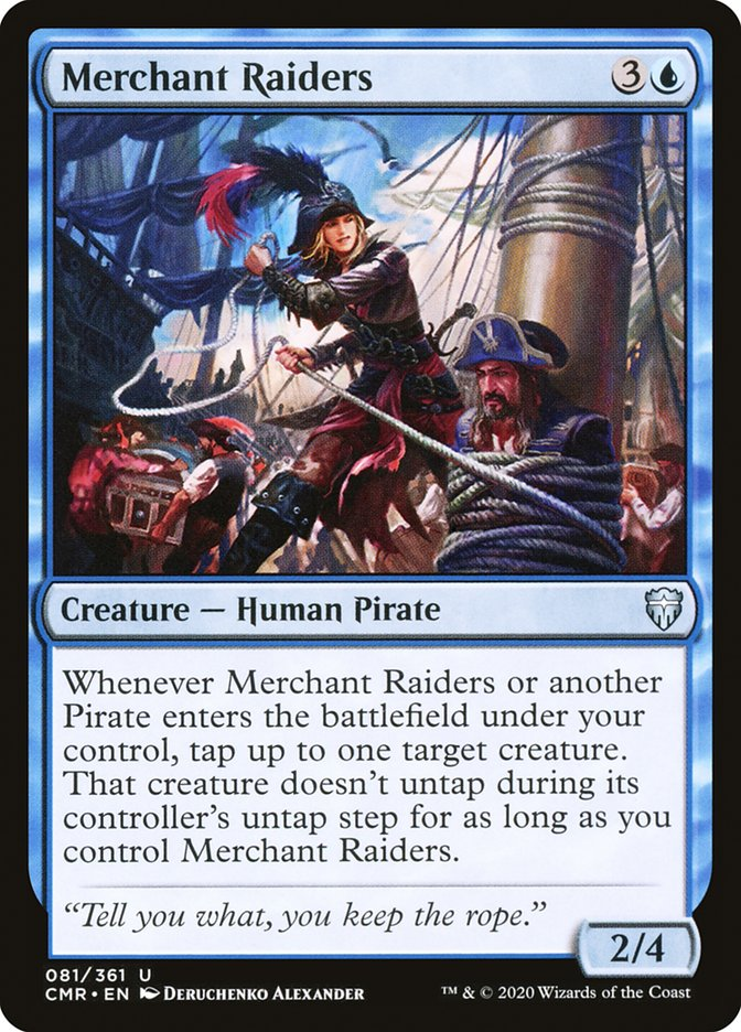 Carta /Merchant Raiders de Magic the Gathering