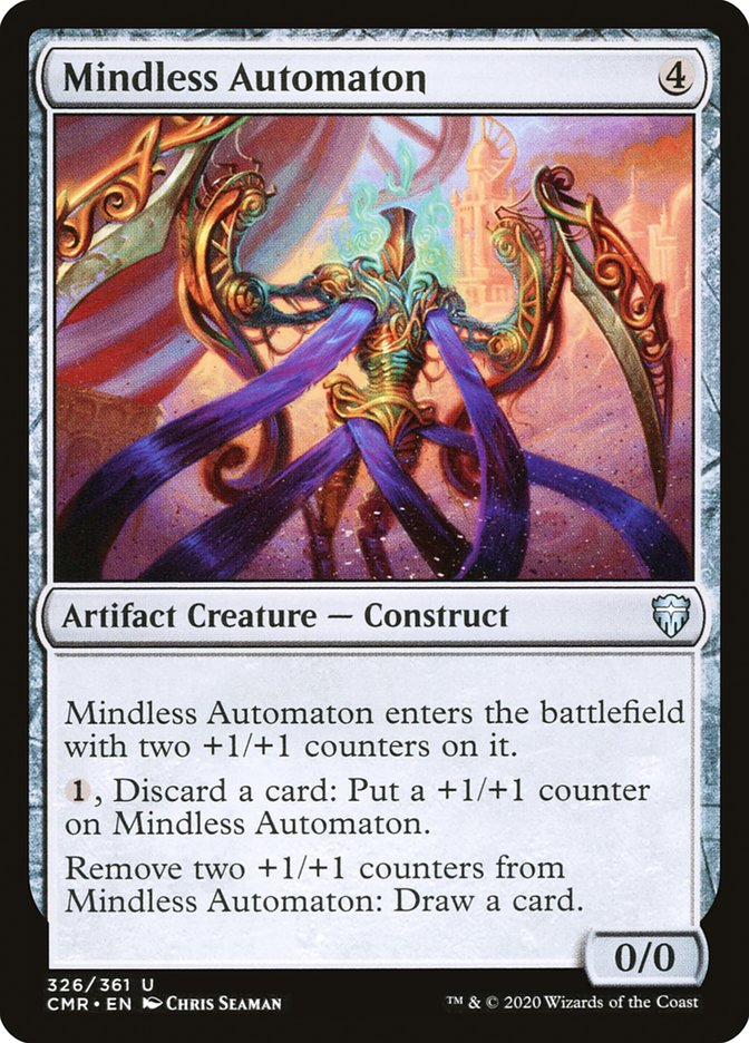 Carta /Mindless Automaton de Magic the Gathering