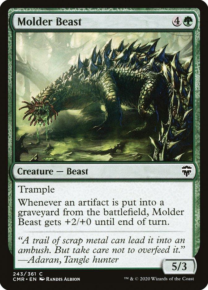 Carta /Molder Beast de Magic the Gathering