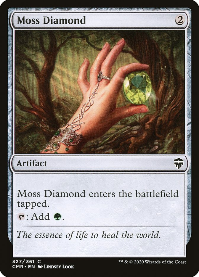 Carta /Moss Diamond de Magic the Gathering