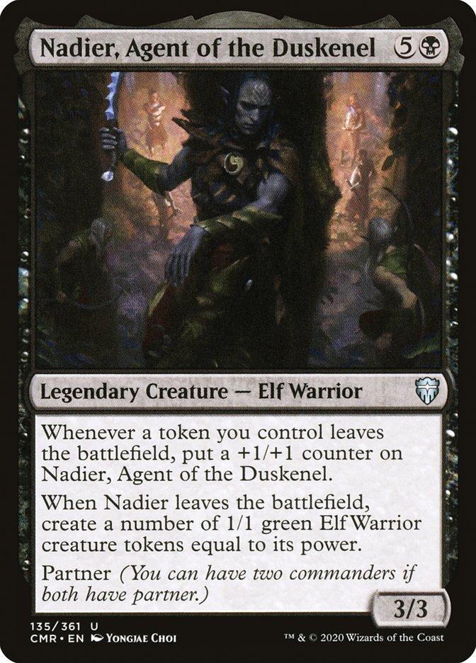 Carta /Nadier, Agent of the Duskenel de Magic the Gathering
