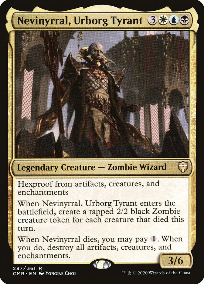 Carta /Nevinyrral, Urborg Tyrant de Magic the Gathering