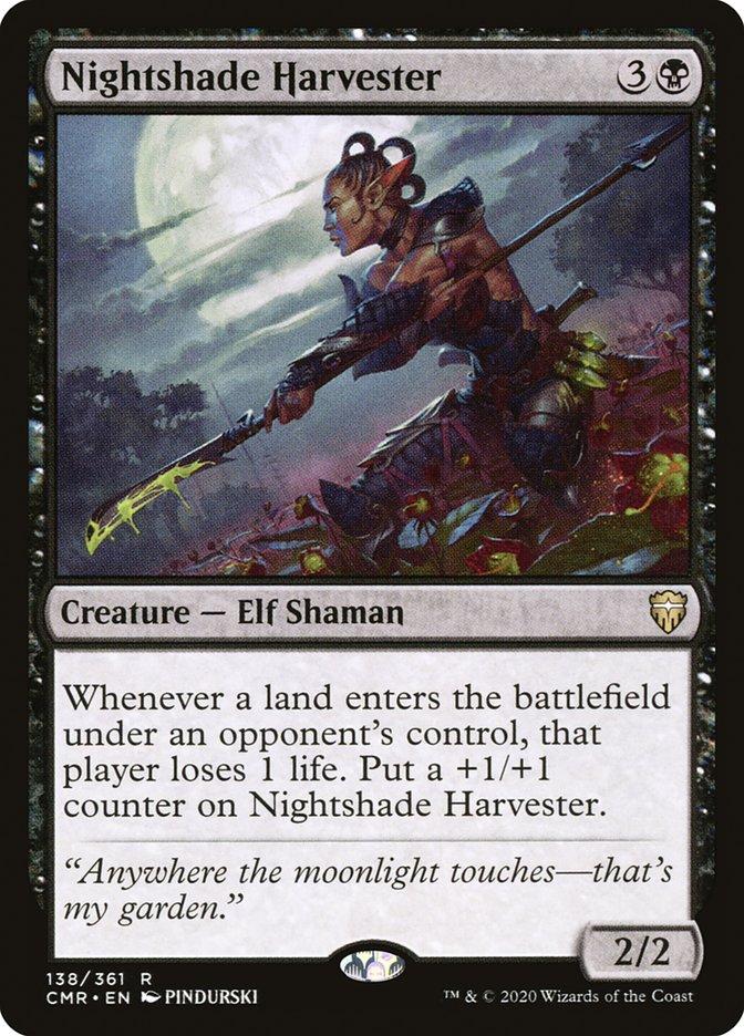 Carta /Nightshade Harvester de Magic the Gathering