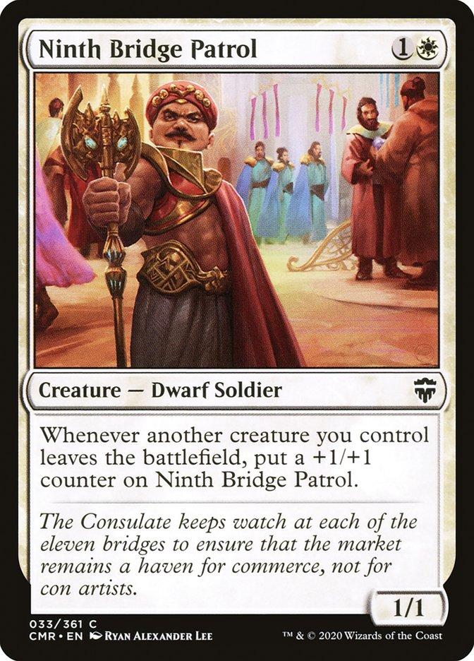 Carta /Ninth Bridge Patrol de Magic the Gathering