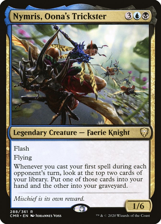 Carta /Nymris, Oona's Trickster de Magic the Gathering