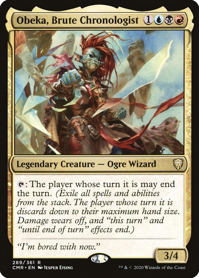 Carta /Obeka, Brute Chronologist de Magic the Gathering
