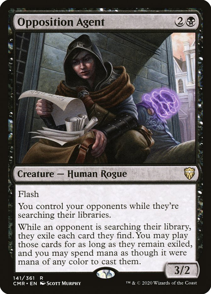 Carta /Opposition Agent de Magic the Gathering