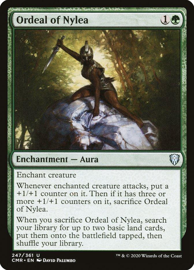 Carta /Ordeal of Nylea de Magic the Gathering