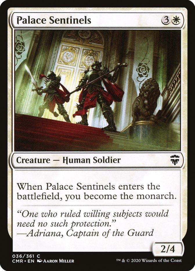 Carta /Palace Sentinels de Magic the Gathering