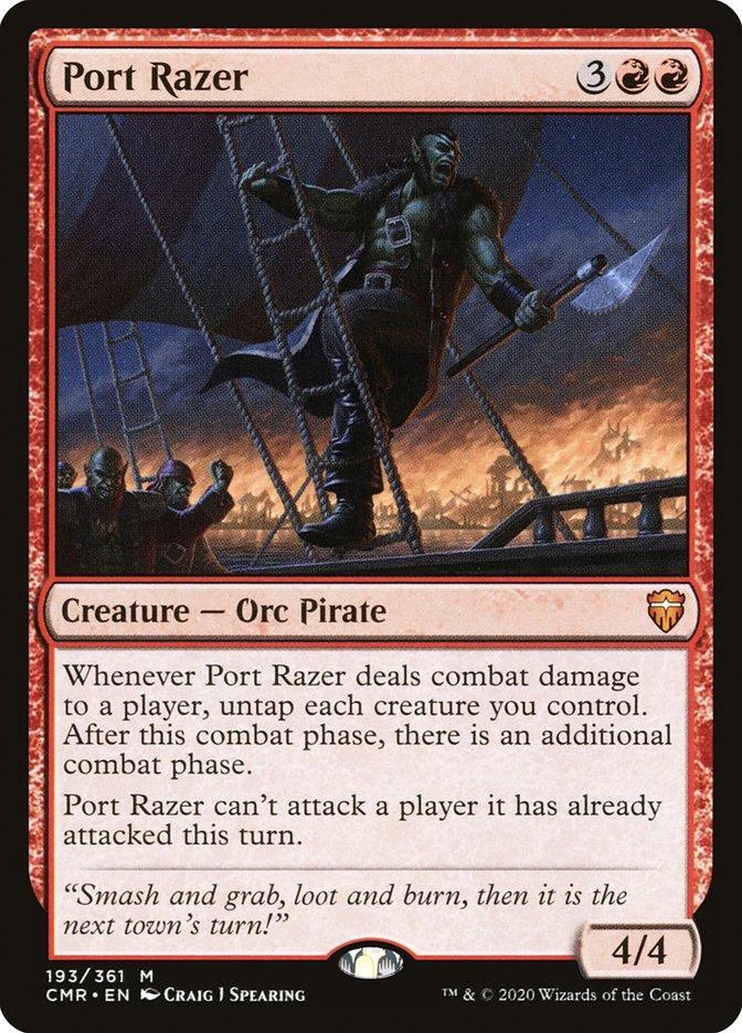 Carta /Port Razer de Magic the Gathering