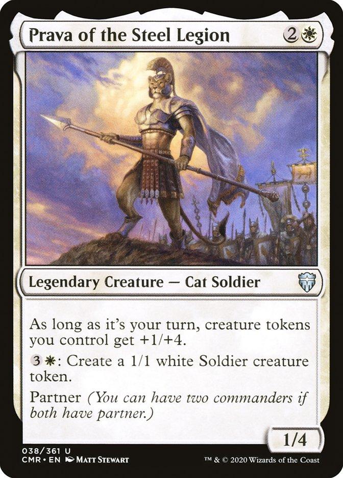 Carta /Prava of the Steel Legion de Magic the Gathering