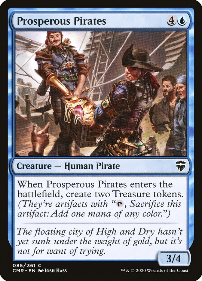 Carta /Prosperous Pirates de Magic the Gathering