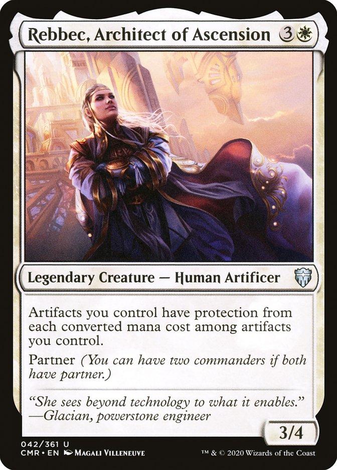 Carta /Rebbec, Architect of Ascension de Magic the Gathering