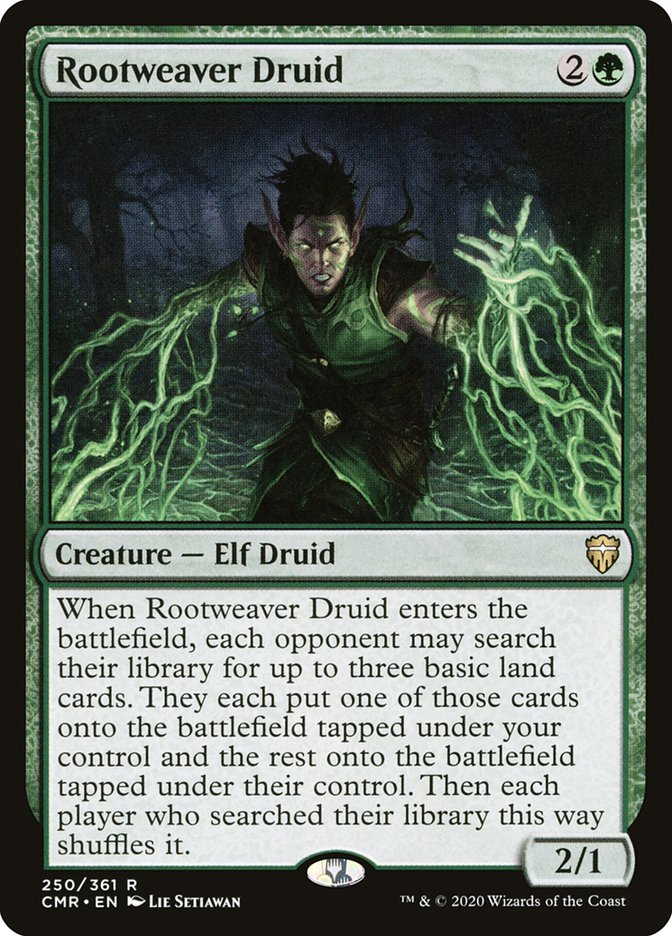 Carta /Rootweaver Druid de Magic the Gathering