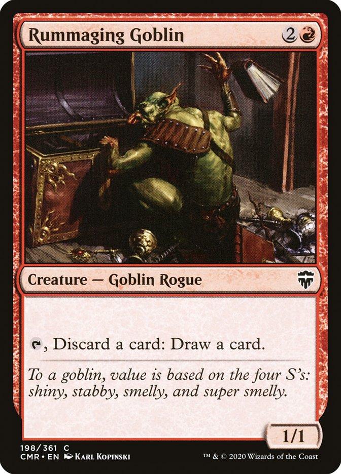 Carta /Rummaging Goblin de Magic the Gathering