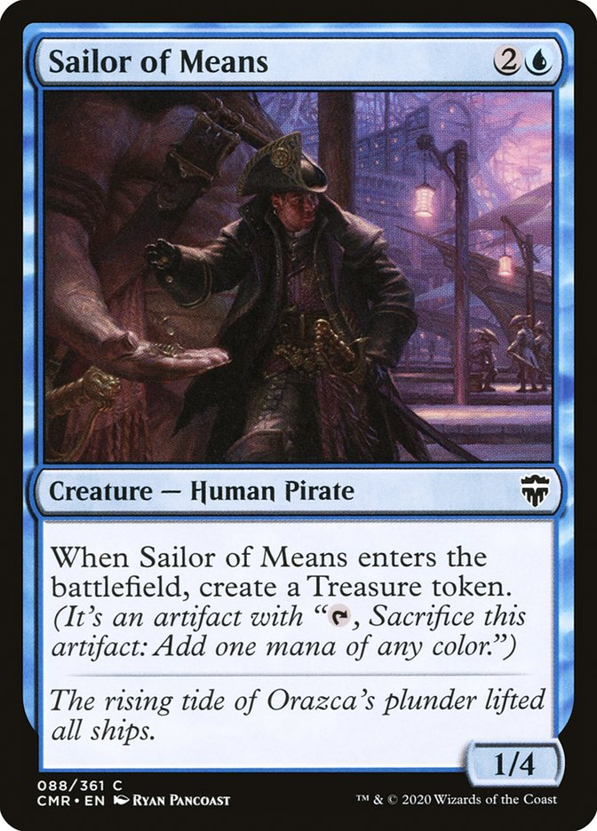 Carta /Sailor of Means de Magic the Gathering
