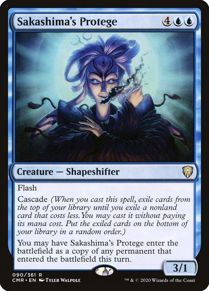 Carta /Sakashima's Protege de Magic the Gathering