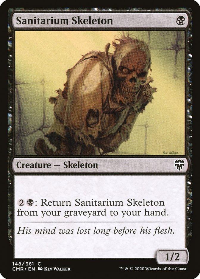 Carta /Sanitarium Skeleton de Magic the Gathering