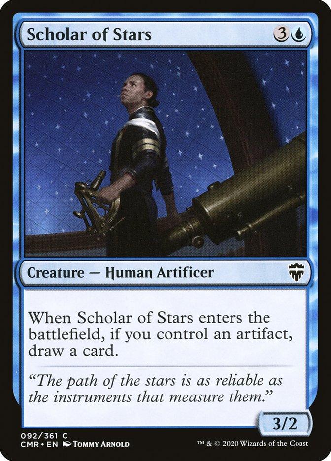 Carta /Scholar of Stars de Magic the Gathering