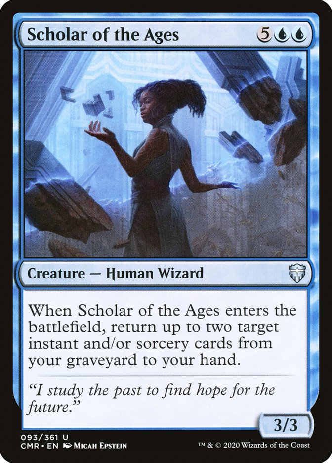 Carta /Scholar of the Ages de Magic the Gathering