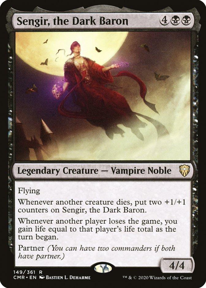 Carta /Sengir, the Dark Baron de Magic the Gathering