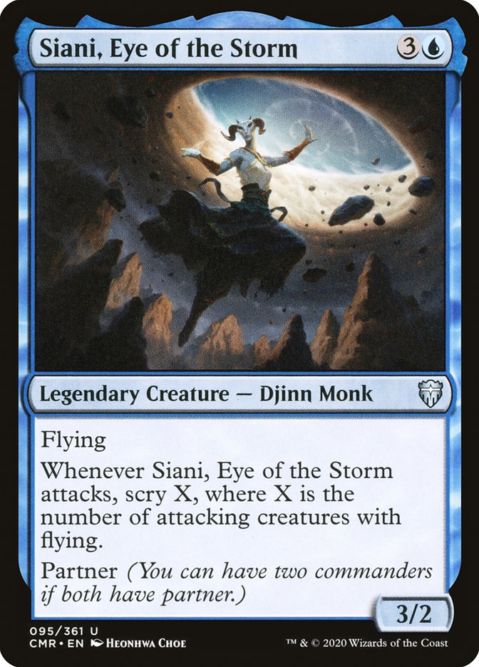 Carta /Siani, Eye of the Storm de Magic the Gathering