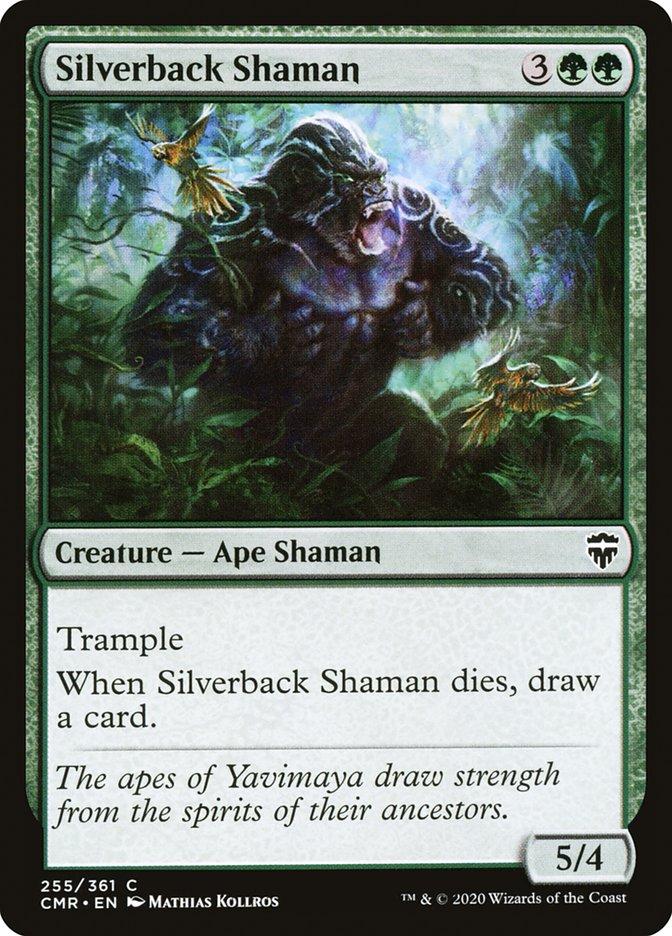 Carta /Silverback Shaman de Magic the Gathering