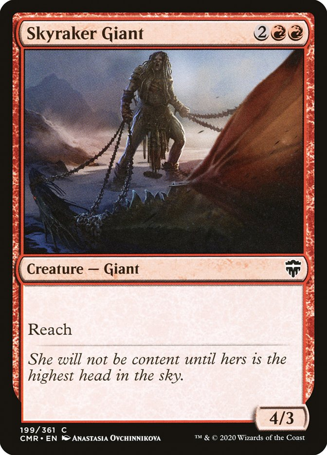 Carta /Skyraker Giant de Magic the Gathering