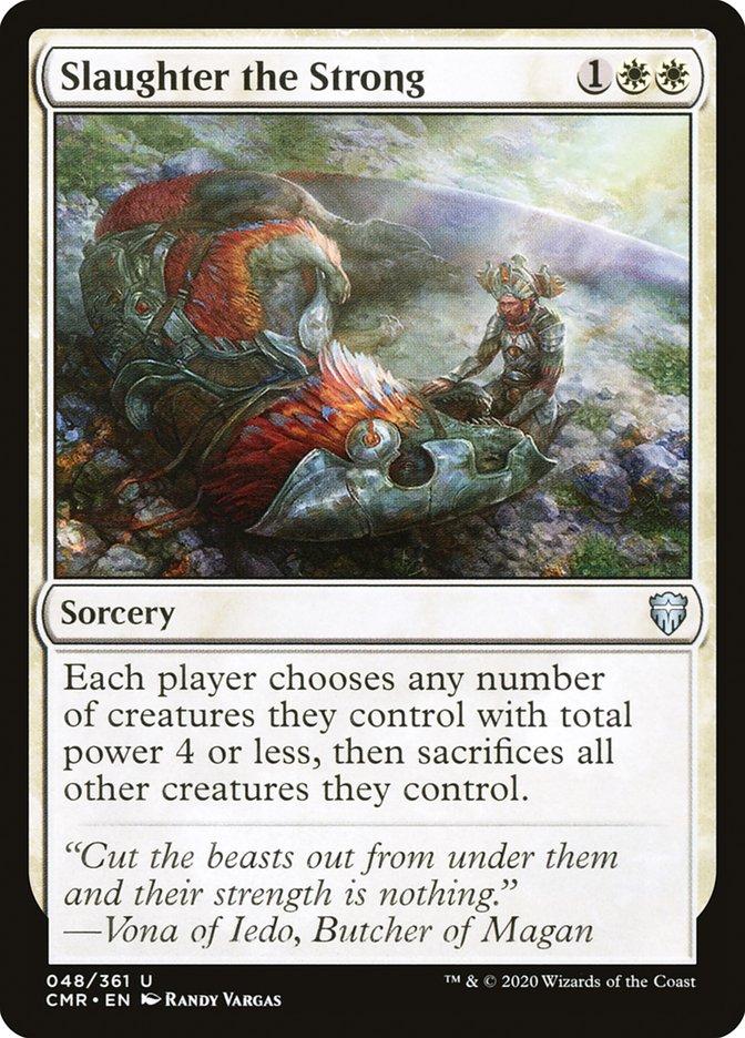 Carta /Slaughter the Strong de Magic the Gathering