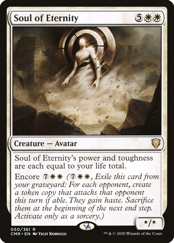 Carta /Soul of Eternity de Magic the Gathering